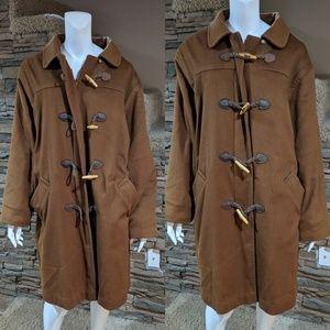 L.L. Bean wool coat size 14W